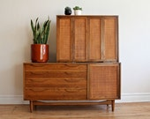 Lawrence Peabody Mid Century Modern Hutch