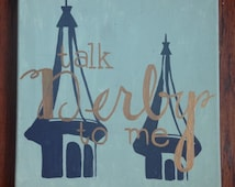 Talk Derby To Me- Kentucky Derby Themed Painting