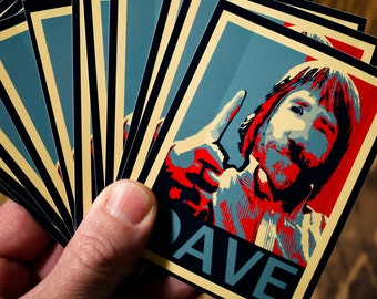 DAVE Thumbs Up sticker