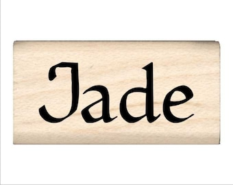 Jade - Name Rubber Stamp for Kids