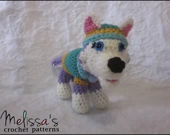 CROCHET PATTERN - Paw Puppy Everest