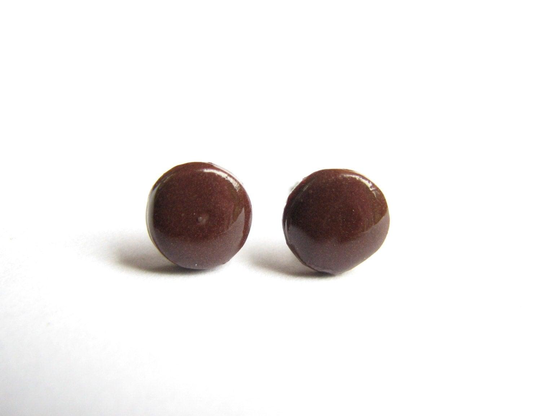 brown studs