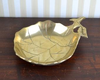 Vintage Brass Dish