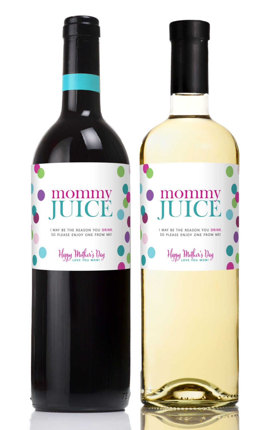 Sly image with printable wine labels