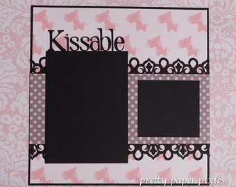 Kissable 12x12 page