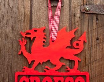 Croeso (Welcome) Dragon