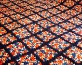 Handmade Vintage Granny Square Afghan Bedspread Queen 88 x 112