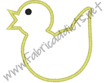 Chick Applique fits 2x2 Hoop for Embroidery Machine - Automatic Download Multiple Formats