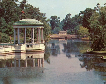 1960s Unused Postcard of Roger Williams Park in Providence, RI