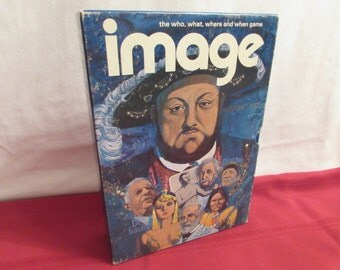 IMAGE Bookshelf Game 1972 3M  The Who, What, Where and When Game
