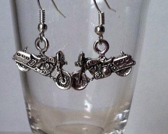 Full Dresser Motorcycle Earrings