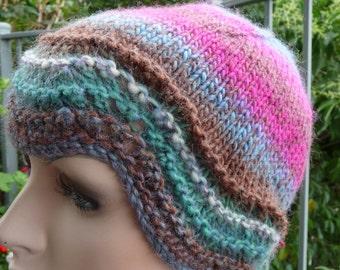 Pure Wool Feather & Fan Hat  -  1315