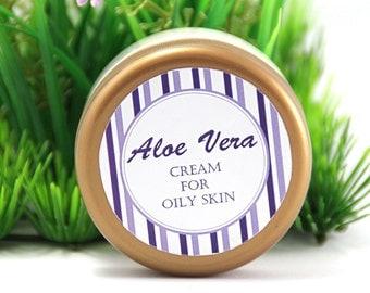 Aloe vera cream for oily skin