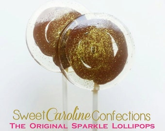 The Original Nutella Lollipops-Filled with Authentic Chocolate Hazelnut Filling, Party Favors, Wedding, Favors-Set of Six