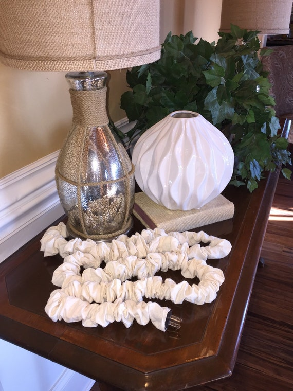 fabric cord cover cream cord cover electrical cord cover. Black Bedroom Furniture Sets. Home Design Ideas