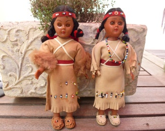 Vintage pair of Dolls