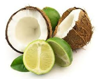 Coconut Lime Verbena BBW Type Premium Fragrance Oil  Many Sizes Available