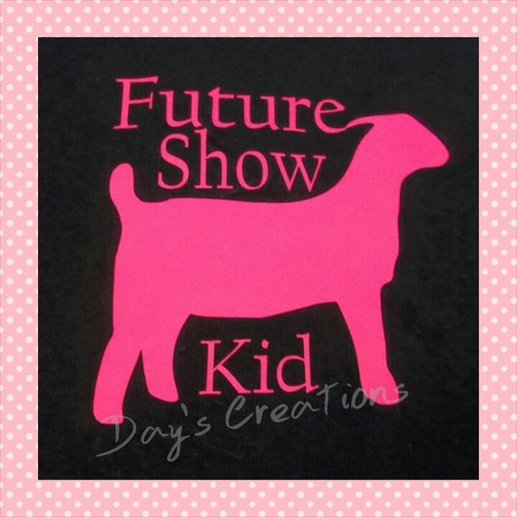 Youth goat shirt - youth future show kid goat graphic tee - Livestock goat shower - future 4H goat shower