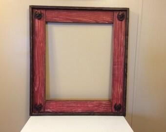 Custom Rustic frames