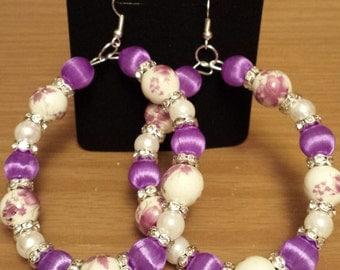 Spring/Summer purple floral design