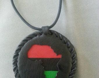 Africa MEDALLION #HANDMADE