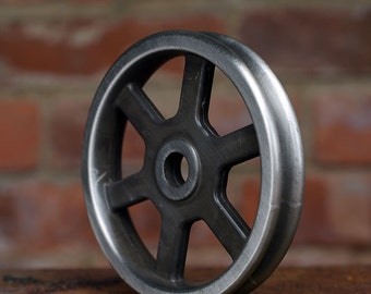 Pulley Wheel - Antique Nickel - Barn Door Hardware - Iron Pulley - Metal Pulley - Pulley Light Parts - Best Quality