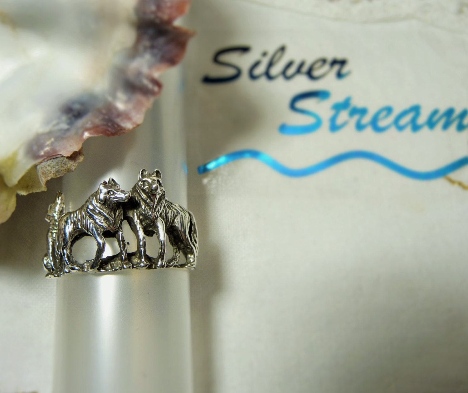 Wolf pack ring - photo#27