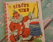 Circus Time Jack-In-The-Book ~ Vintage ~ 1952