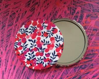 Liberty Wiltshire handbag mirror