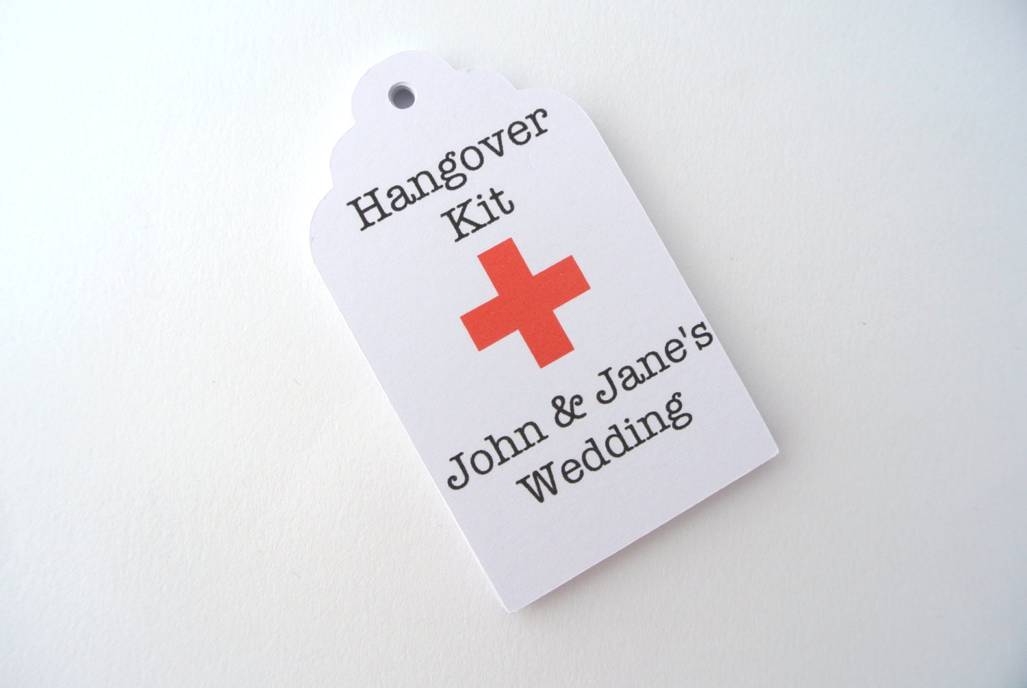 Wedding Favor Tag Kit : 25 Hangover Kit Gift Tags Wedding Party Survival Kit Favors
