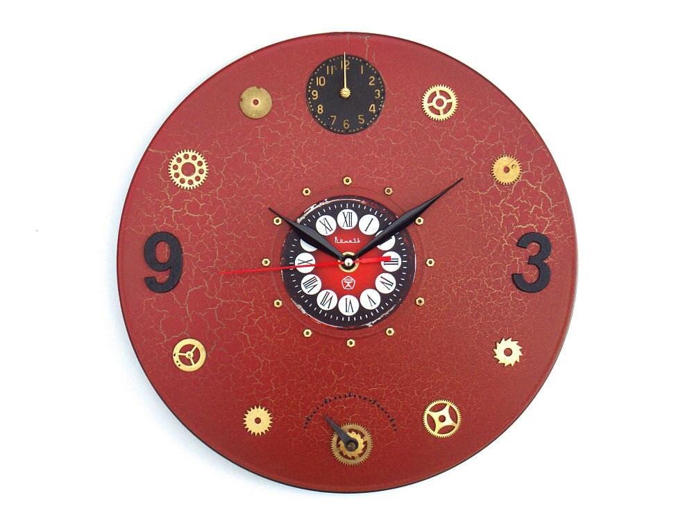 Steampunk Wall Clock Unique Wall Clocks Modern Wall Clocks
