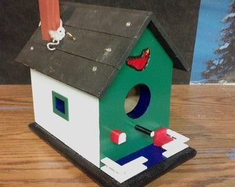 hand.made bird house