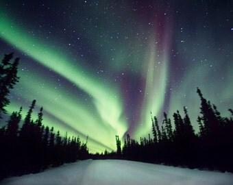 Northern Lights Photography, Aurora Borealis, Night Photography, Aurora Landscape Photo, Northern Lights Landscape, Night Sky Photo, Alaska