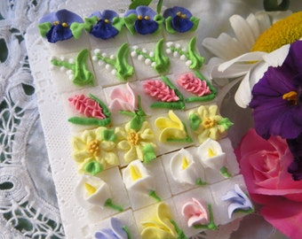 Garden Bouquet Sugar Cubes