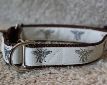"1"" Bees Martingale Collar"