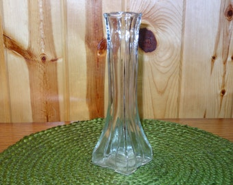 Europa Clear Glass Vase / Clear Glass Vase / Europa