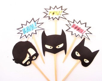 Catwoman Cake Topper Etsy