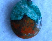 Sonora Sunrise Cabochon Pendant- Reserved for Sally