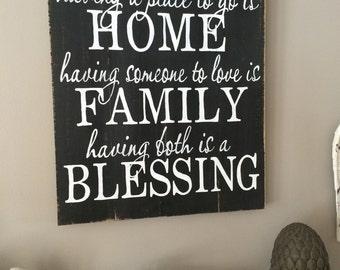 Home, Family,Blessing