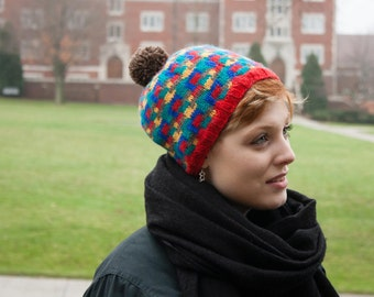 PATTERN: Building Blocks Stranded Beanie