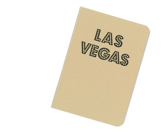 Las Vegas notebook - travel journal - United States of America