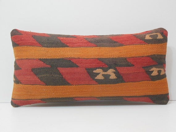 Southwestern Lumbar Pillow : southwestern pillow 12x24 extra large throw by DECOLICKILIMPILLOWS