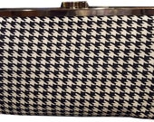 Coco Chanel - Classic Houndstooth Purse