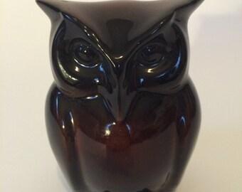 Ceramic Standing Owl