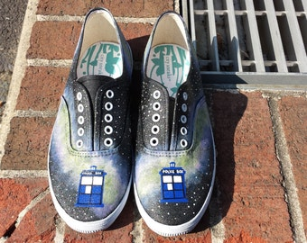 Doctor Who Galaxy TARDIS shoes