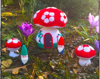 Pattern The African Flower Gnomehome by Nienepien