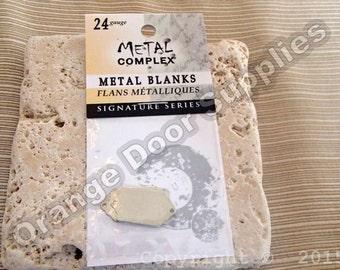 Stamping Metal Blank - 20mmx13mm - 3 pcs