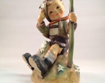 Hummel porcelain mountaineer boy