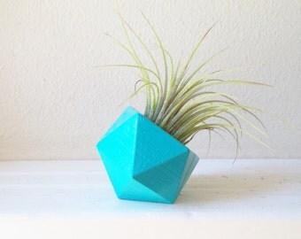 Geometric air plant holder, modern mini planter