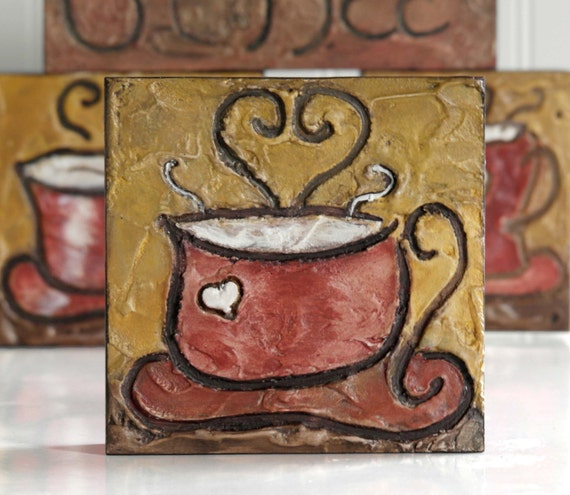 Coffee lovers gift kitchen coffee decor coffee bar decor wood Gifts for kitchen lovers